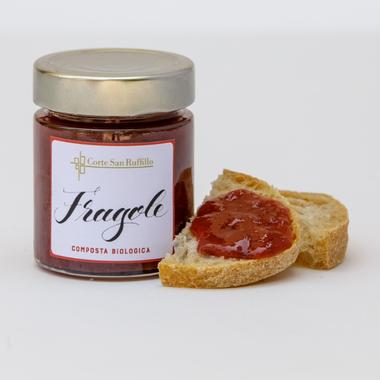 Composta Biologica di Fragole 150g